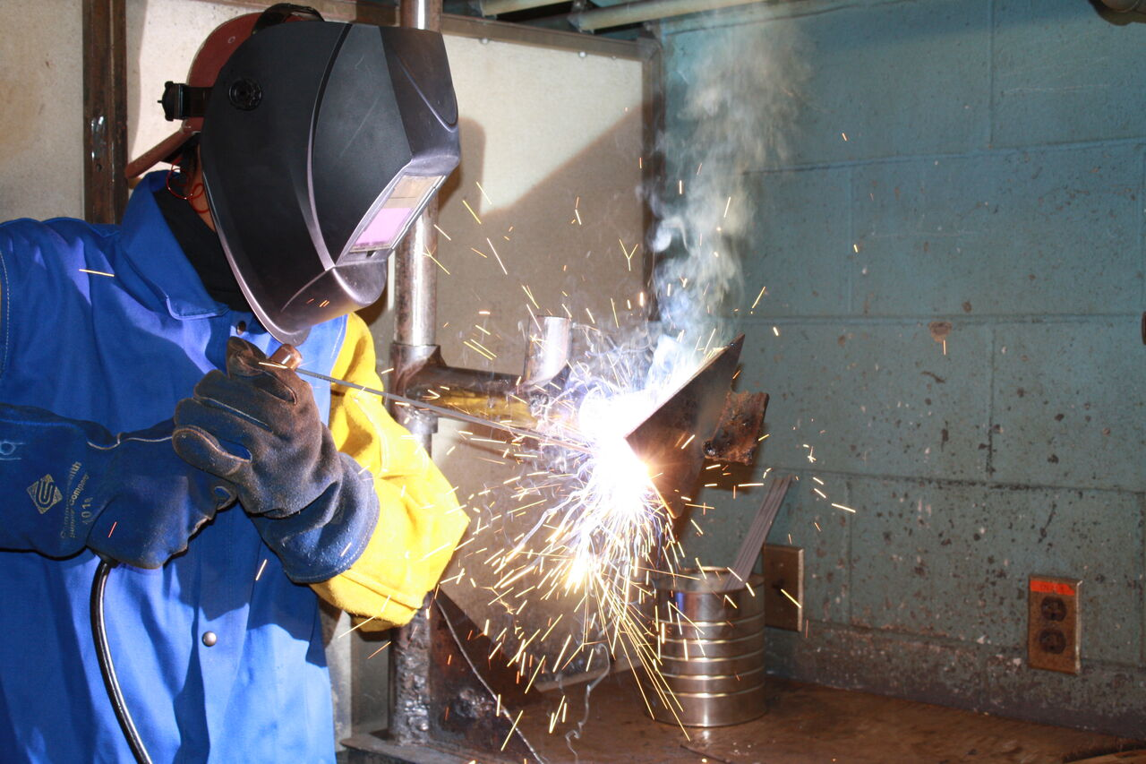 You'll get plenty of real-world welding experience at SUN Tech.