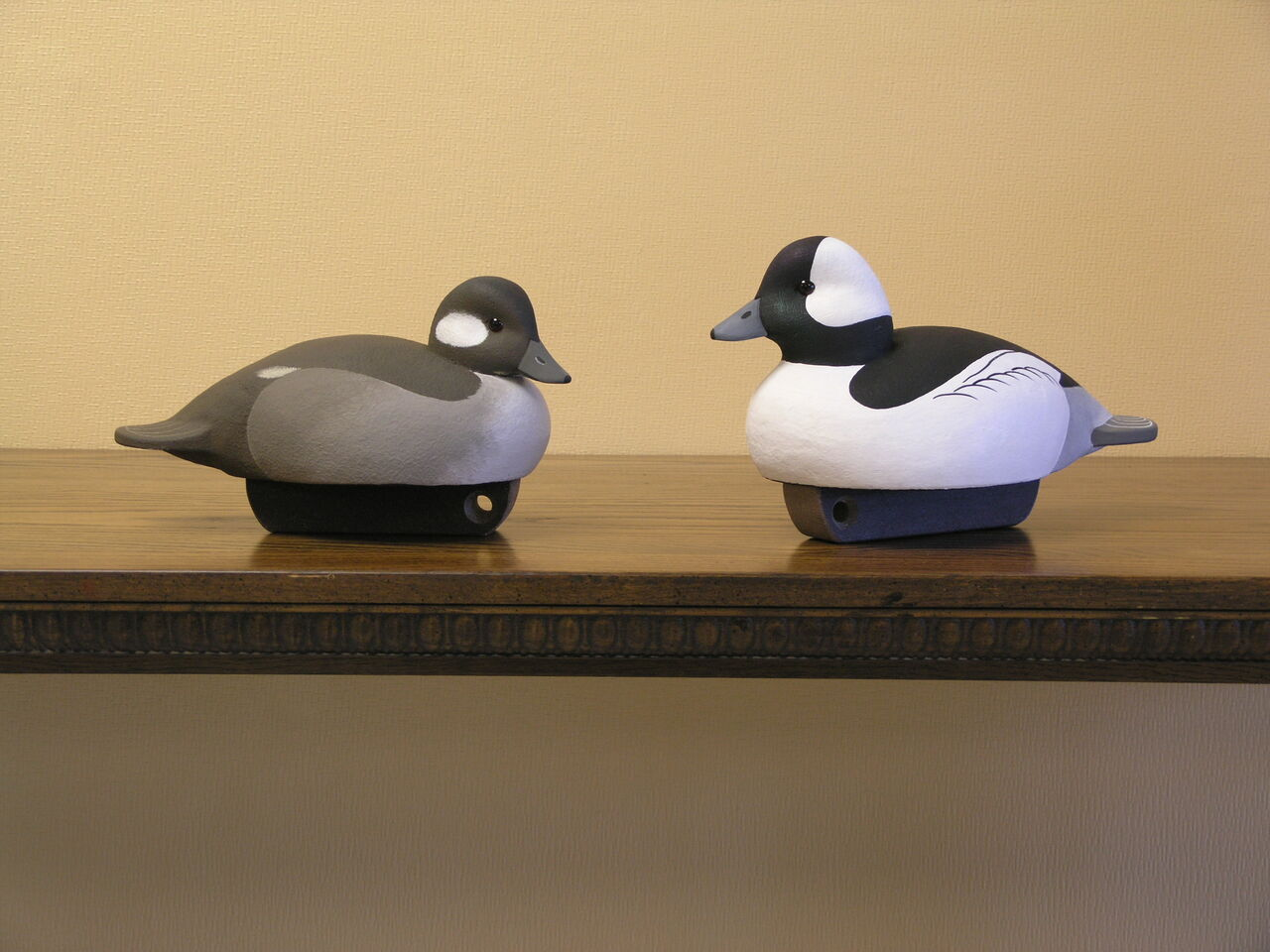 Bufflehead Hunting Decoy Pair