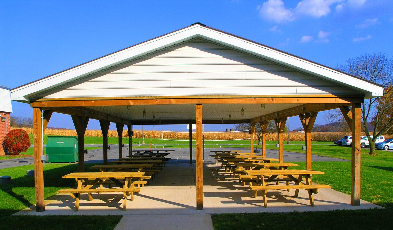 Student-Built Pavilion