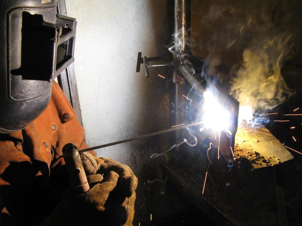Adam Wilks Stick Welding