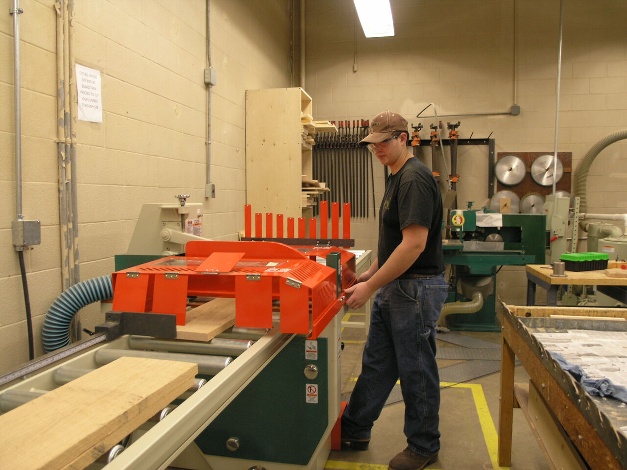 Our new Grizzley Jump Saw is a Crosscutting Beast!