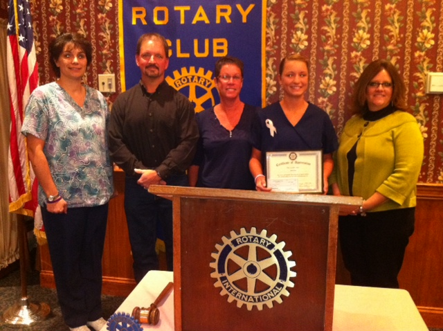 Congratulations to Nichole Brouse for being nominated the Lewisburg Rotary's October Student of the Month!