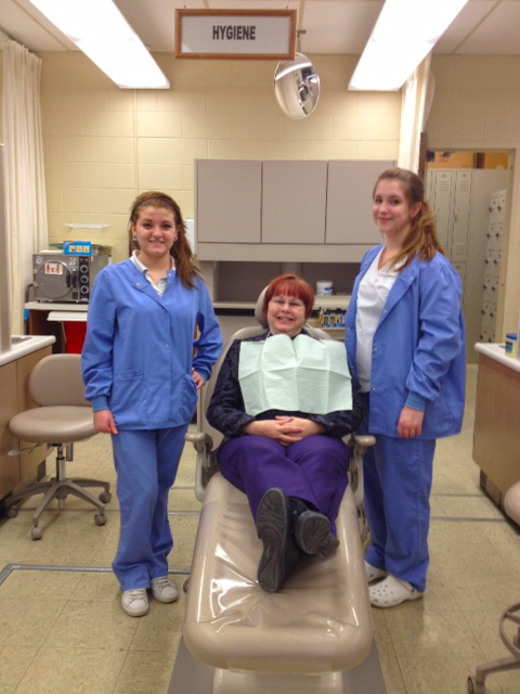 : Jackie Donnelly and Mackenzie McColl made quite an impression on Mrs. Sharer.