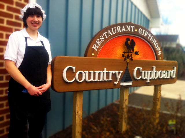Co-op Student Laura Straub at Country Cupboard