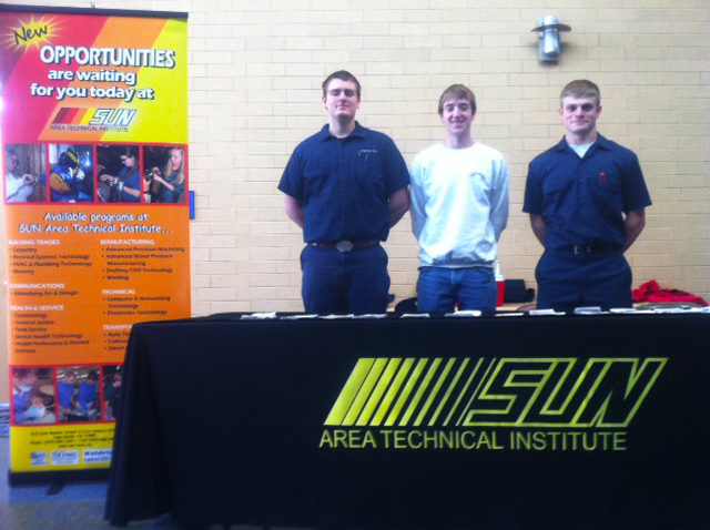 Robinson, Thomas, and Hibbs at Midd-West High School