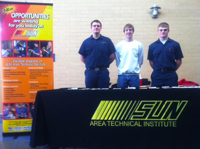 Robinson, Thomas, and Hibbs at Midd-West High School