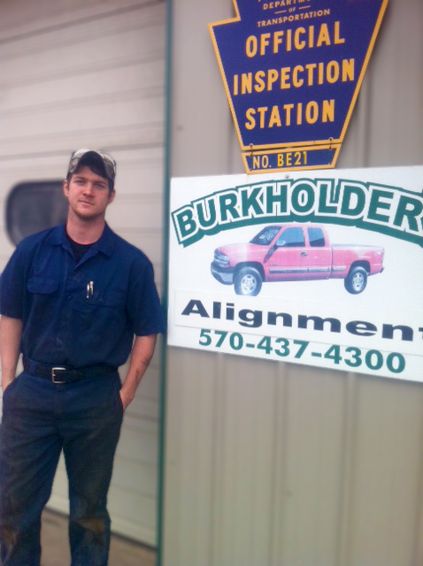 Nicholas Mast at Burkholder Alignment
