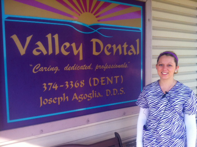 Briana Berge at Valley Dental