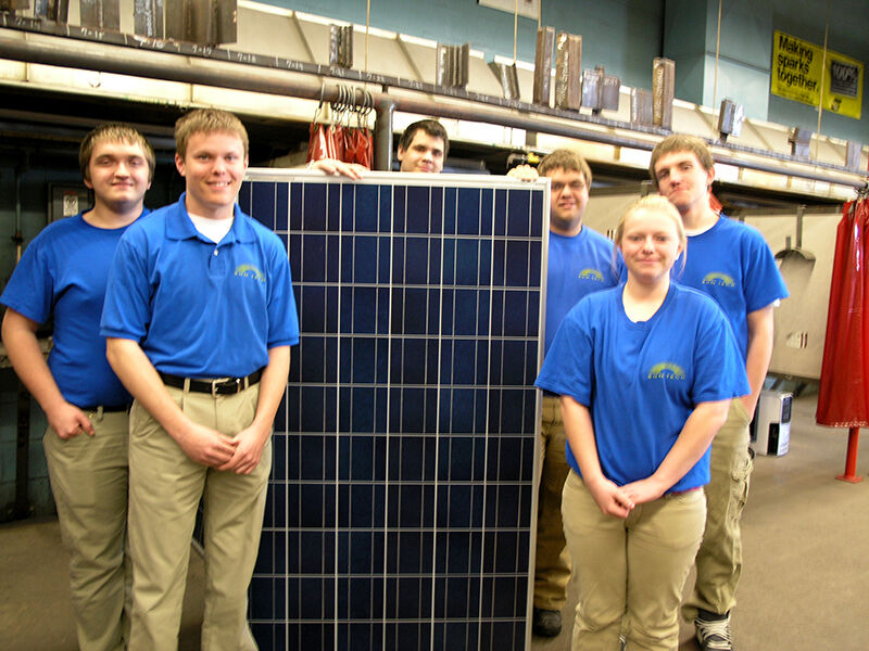 Electronics Technology Installs Solar