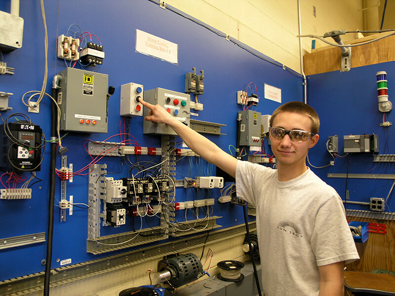 Sean Gay Practices Electrical Motor Controls