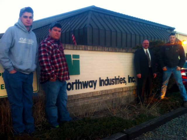 SUN Tech Co-op Students at Northway Industries