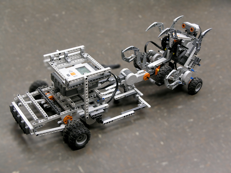 Students in the Robotics Camp will build, test, and battle their robots!