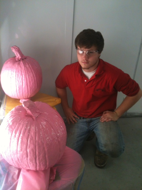 Adam Funk and his Pink Pumpkins