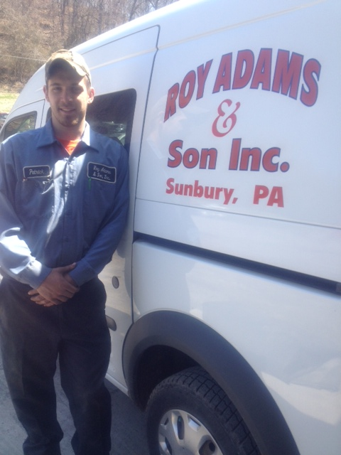Patrick Wolfe at Roy Adams & Son Inc.