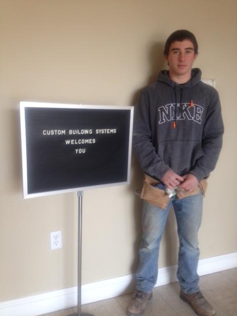 Brandon Crossley at CBS