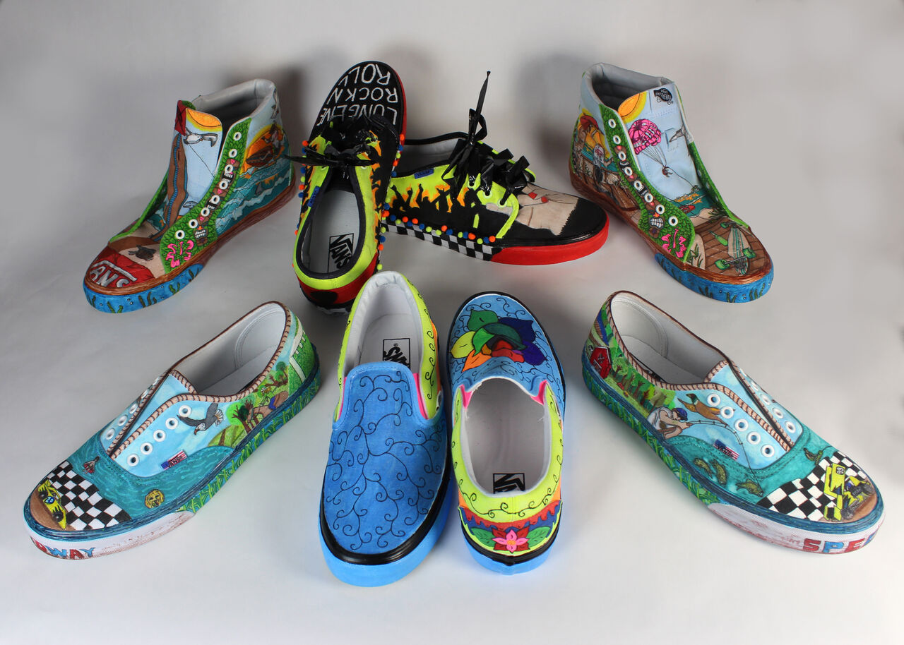 f39bc4023a Advertising Art Enters the Vans Custom Culture Contest. All of our Vans  Custom Culture Entries