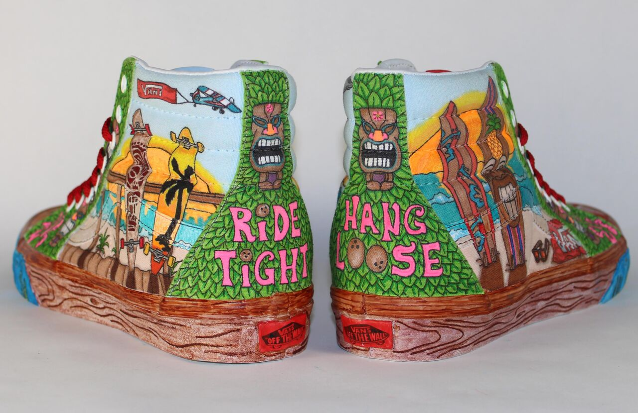 aefdcdb1f7 Zach Bronish. Kelsey Bachman. Kelsey Bachman. Students in the Advertising  Art   Design program entered the Vans Custom Culture contest ...