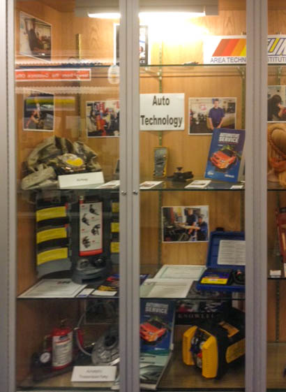 The Automotive Technology program on display at Mifflinburg High School