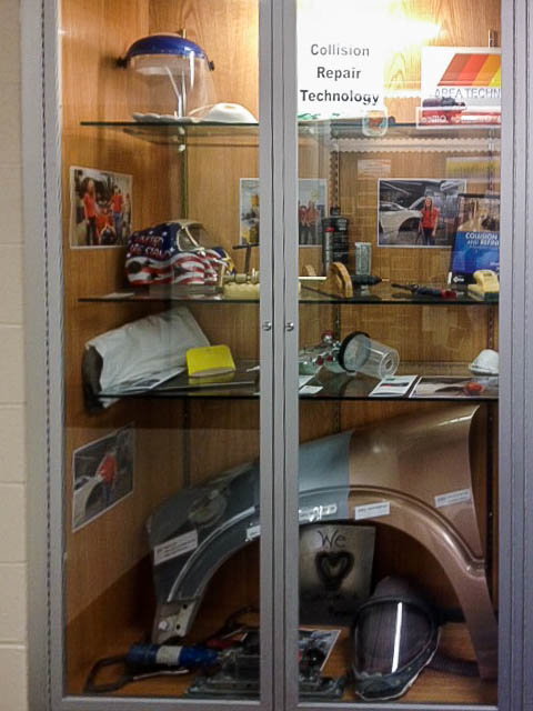 SUN Tech's Collision Repair Technology Program on Display at Midd-West High School